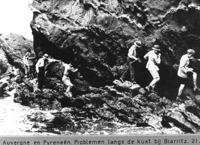 Excursie Auvergne Pyreneeën 1931