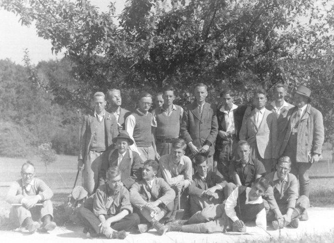 Excursie Jura 1933