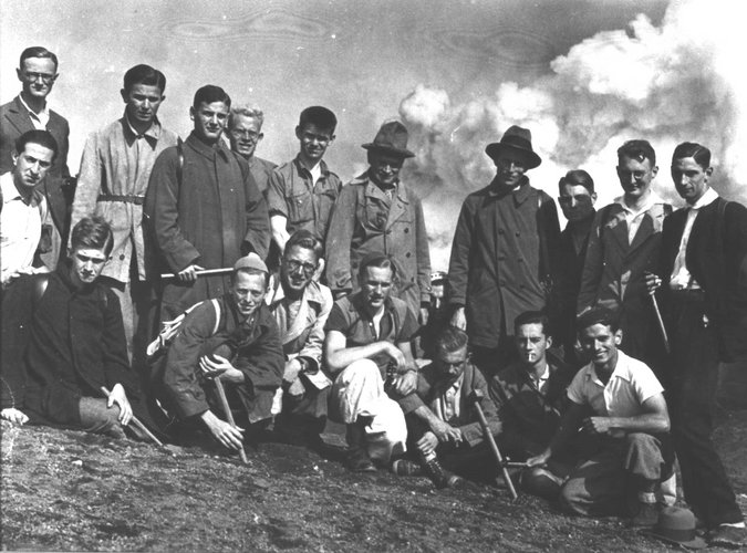 Excursie Alpen-Appenijnen 1934