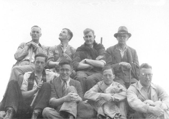 Excursie Alpen 1937