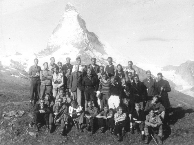 Excursie Jura Alpen 1946