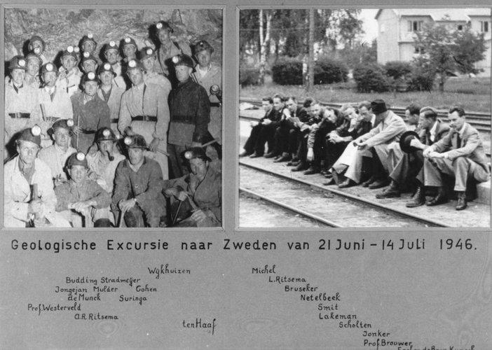 Excursie Zweden 1946