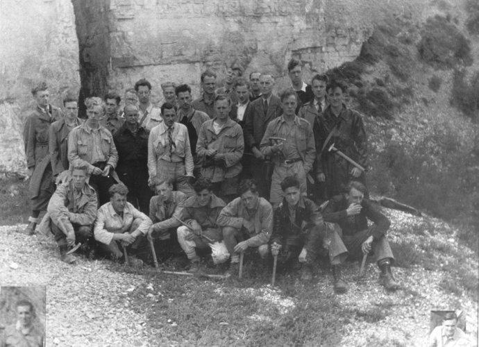Excursie Auvergne 1947