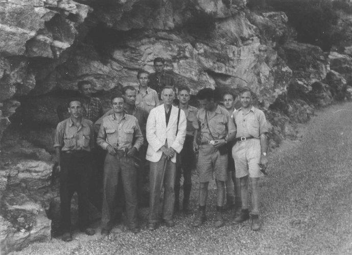Excursie Corsica 1947