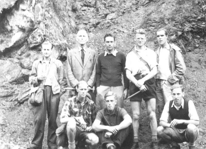 Excursie Ardennen 1948