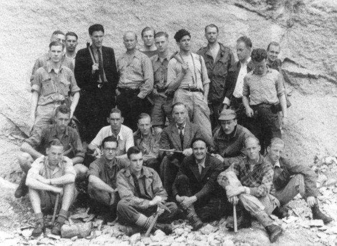 Excursie Ardennen en Vogezen 1949