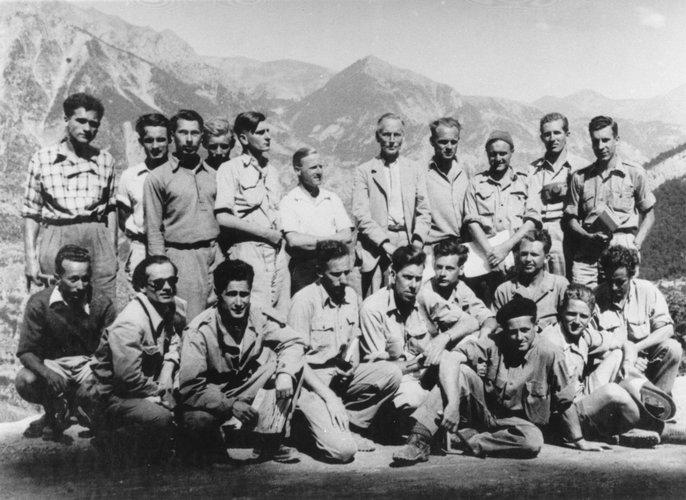Excursie Franse Alpen 1949