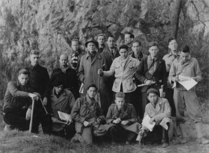 Excursie Limburg-Ardennen 1949