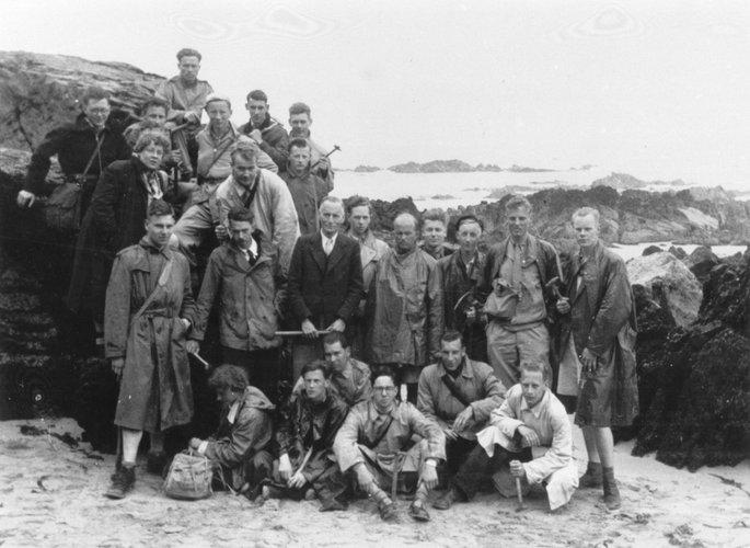 Excursie Normandië 1951