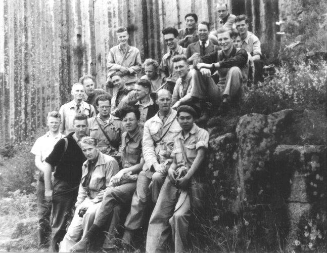 Excursie Auvergne 1951