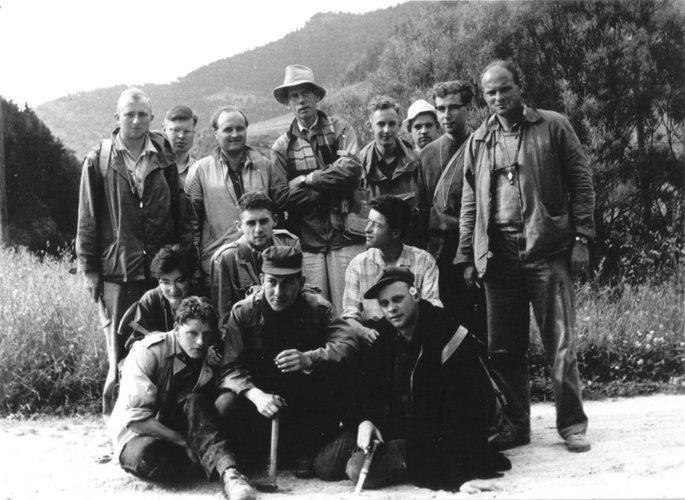 Excursie Franse Alpen 1958