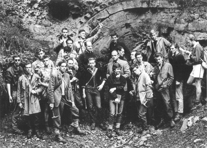 Excursie Zuid-Limburg en België 1960