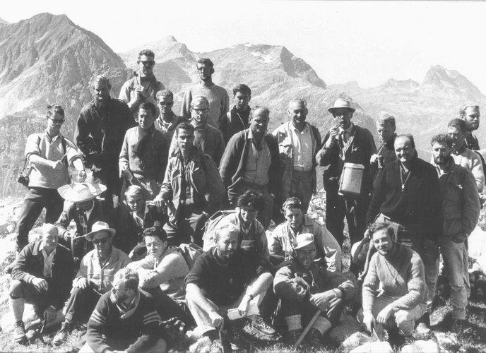 Excursie Alpen 1961