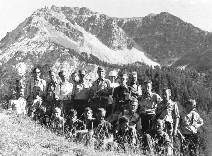Excursie Alpen 1964