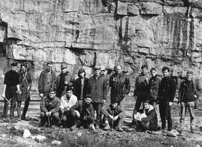 Excursie Ardennen 1966