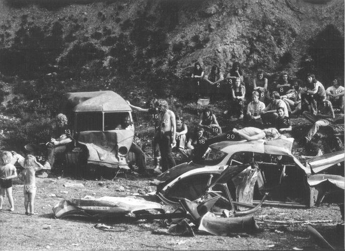 Excursie Ardennen 1973