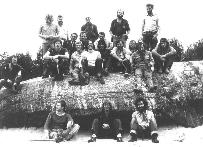Excursie Scandinavië 1973