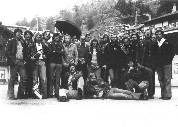 Excursie Alpen 1974