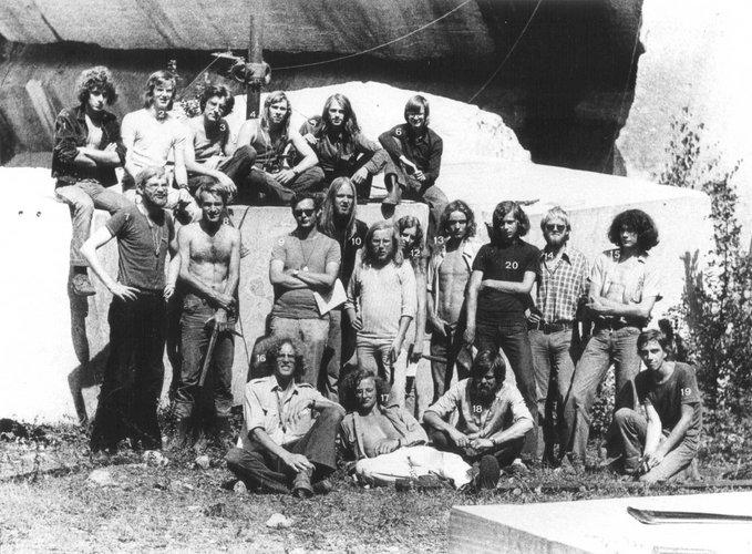 Excursie Ardennen 1974