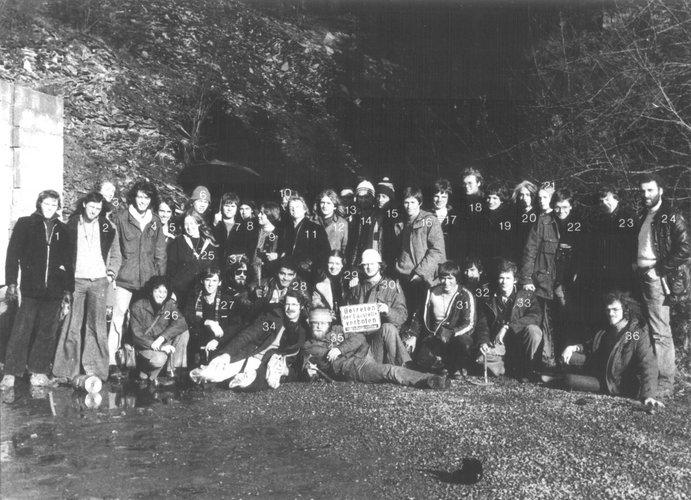 Excursie Sauerland 1976