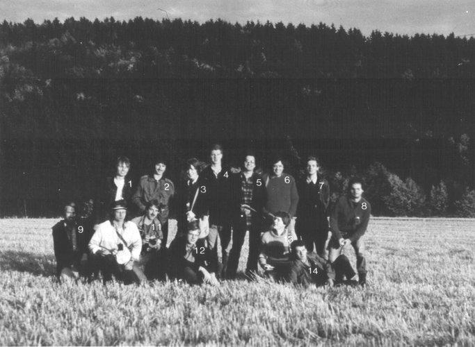 Excursie Sauerland 1979