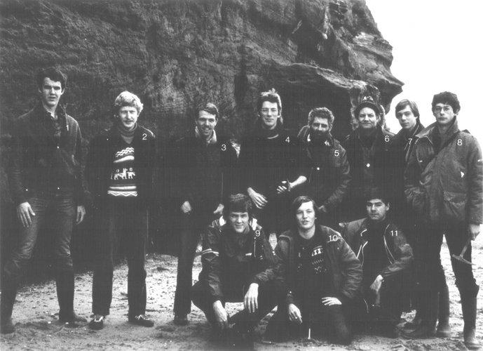 Excursie zuid Engeland 1981