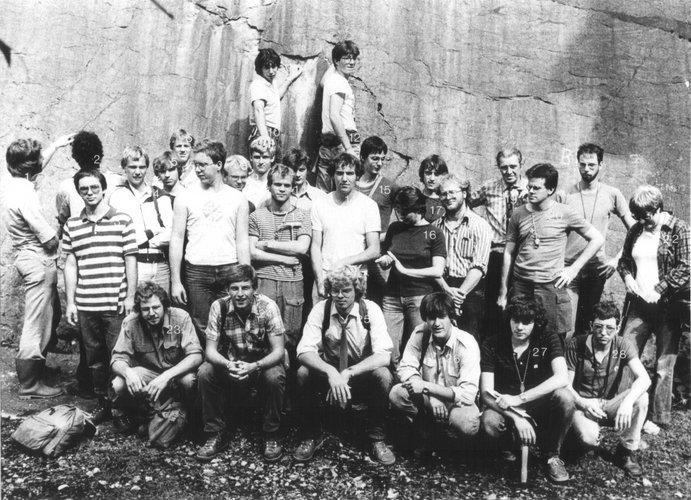 Excursie Ardennen 1982