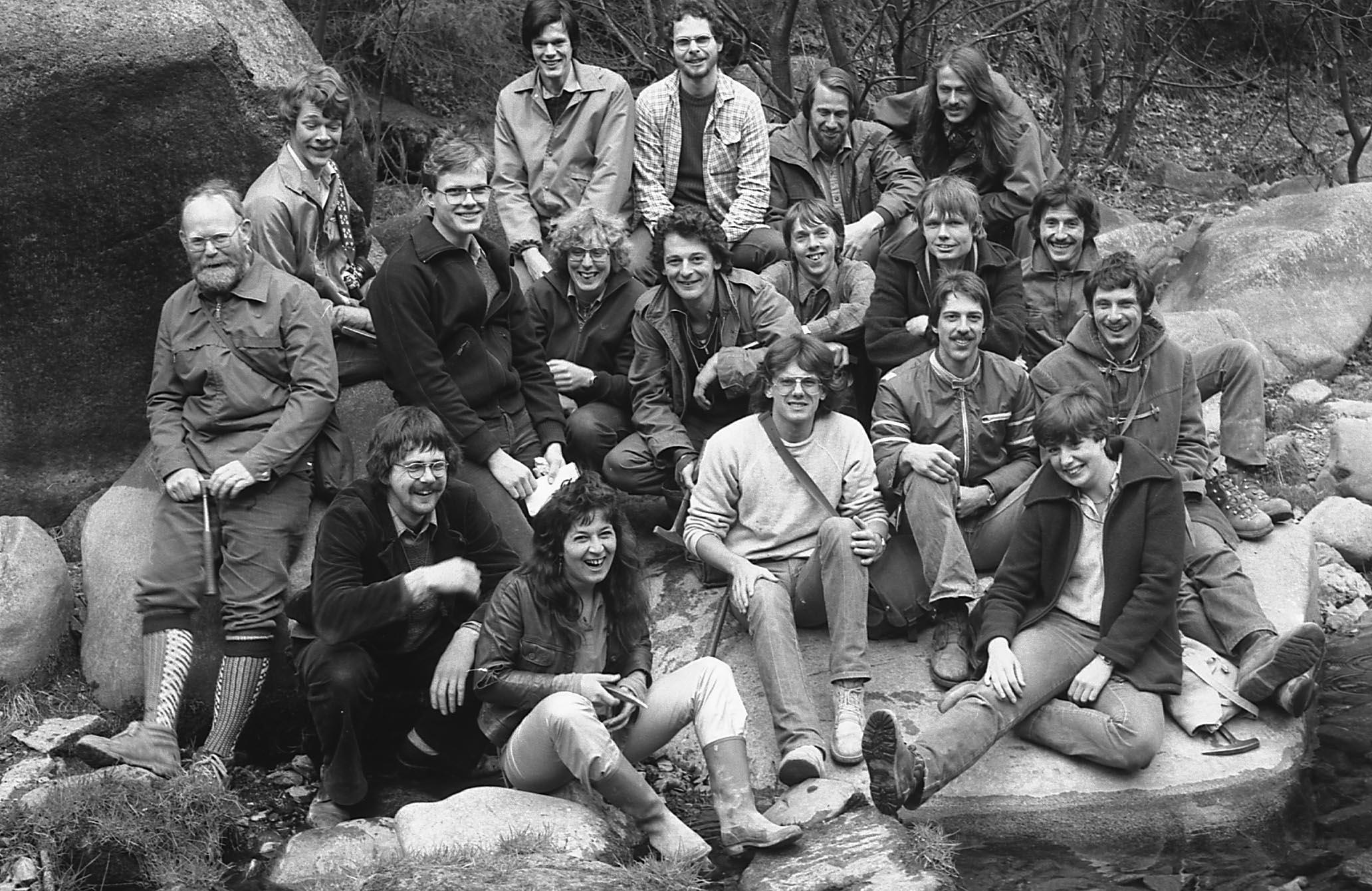 Excursie Harz 1980