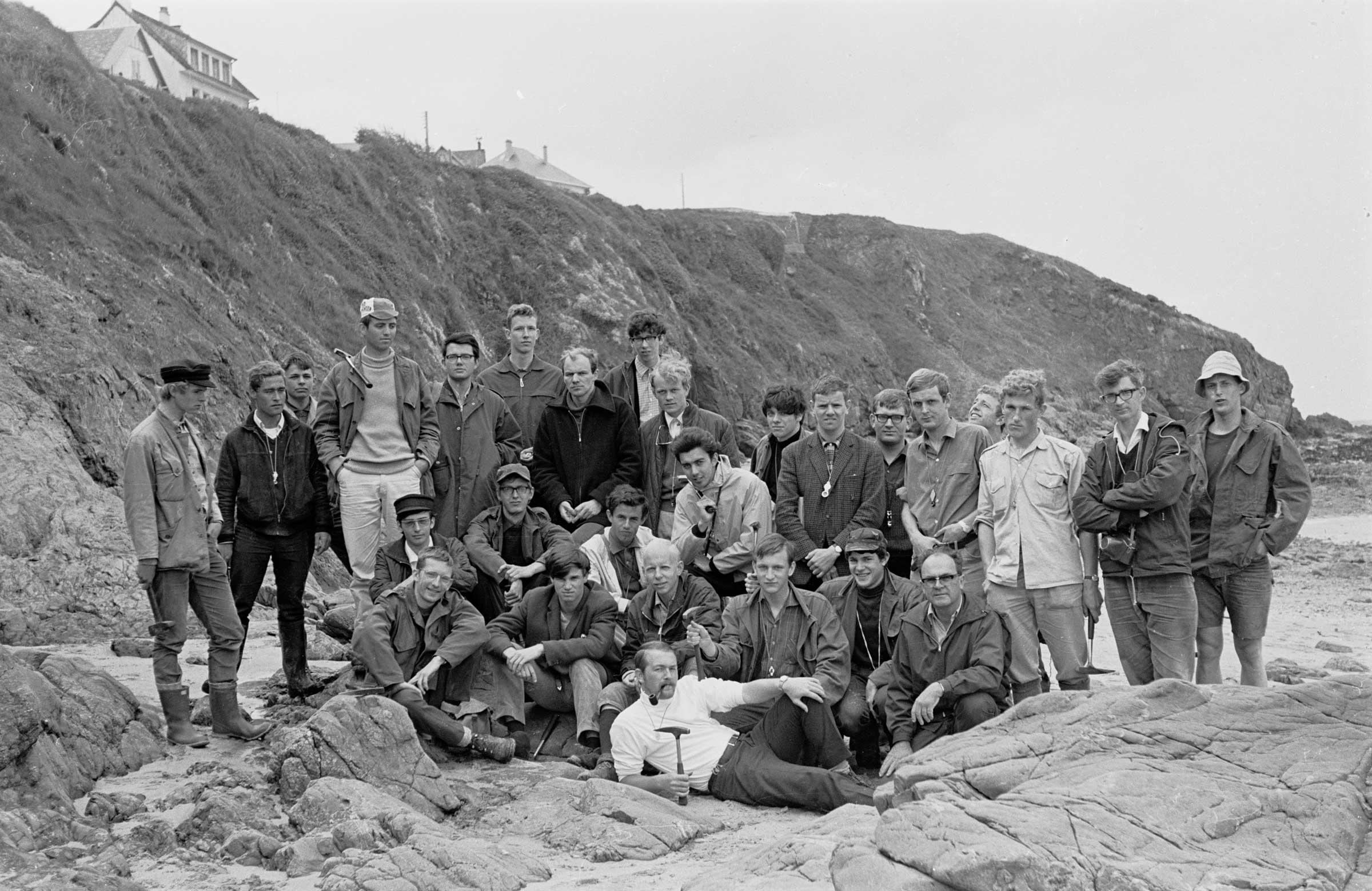 Excursie Normandië 1967