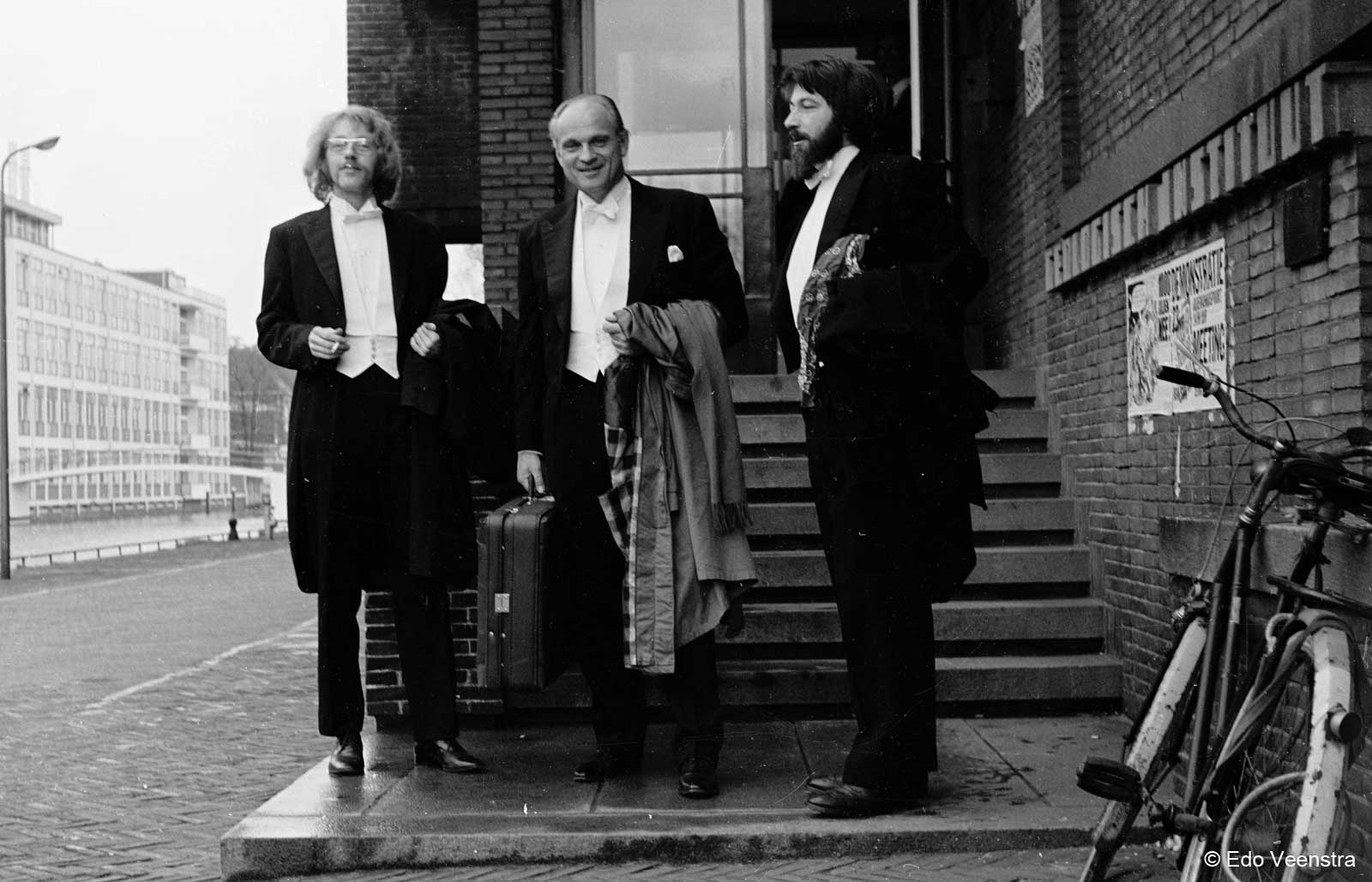 Henk Barelds, prof. Cees Egeler en Steven De Clercq