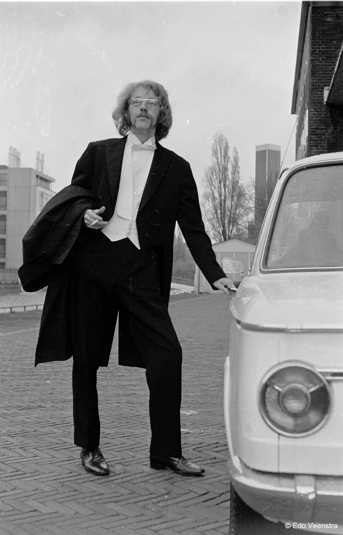 Henk Barelds is paranimf
