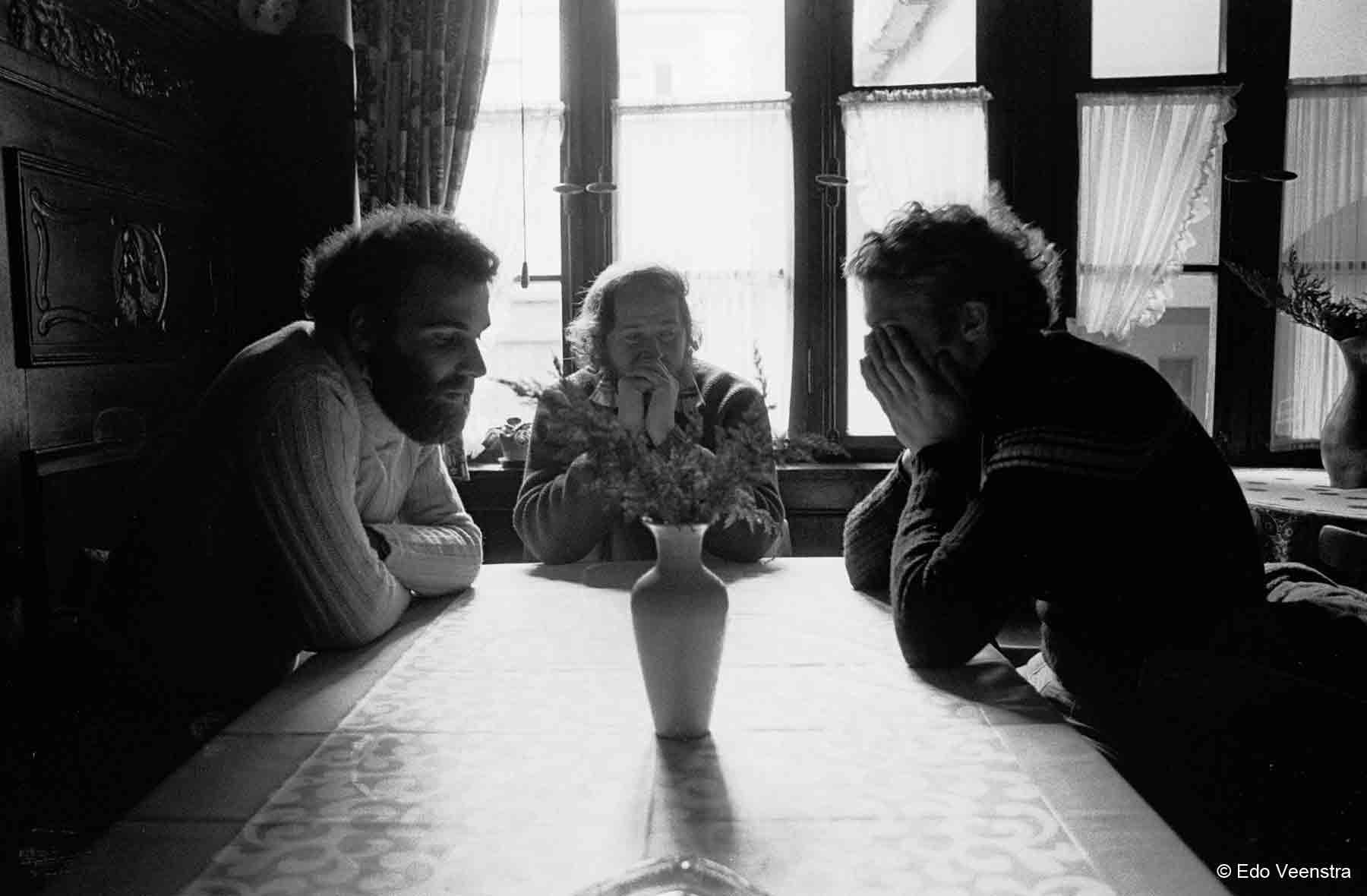 Jacques, Herbert en Roman Lipkov