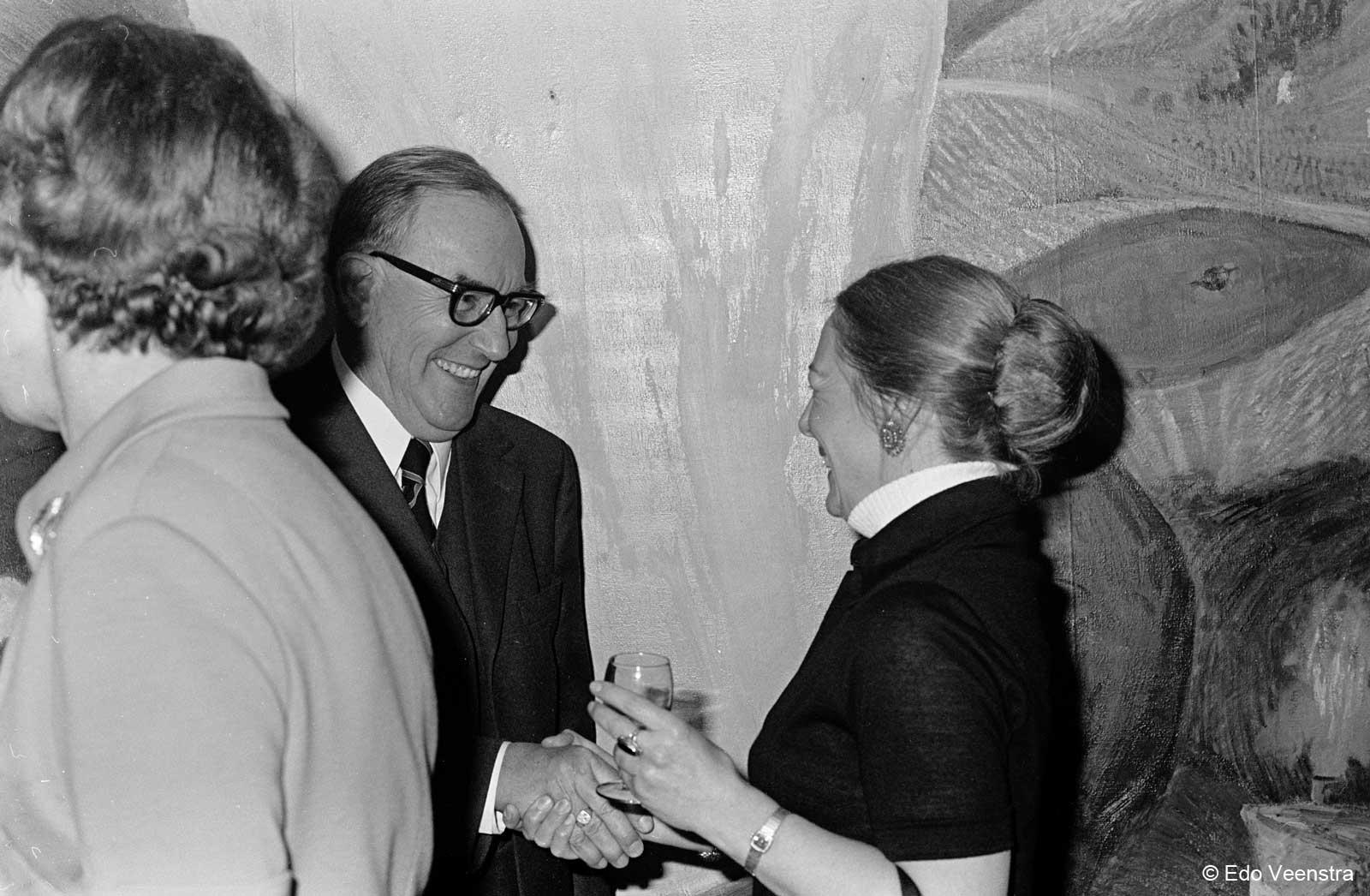 Afscheidsreceptie prof. W.P. de Roever 1975