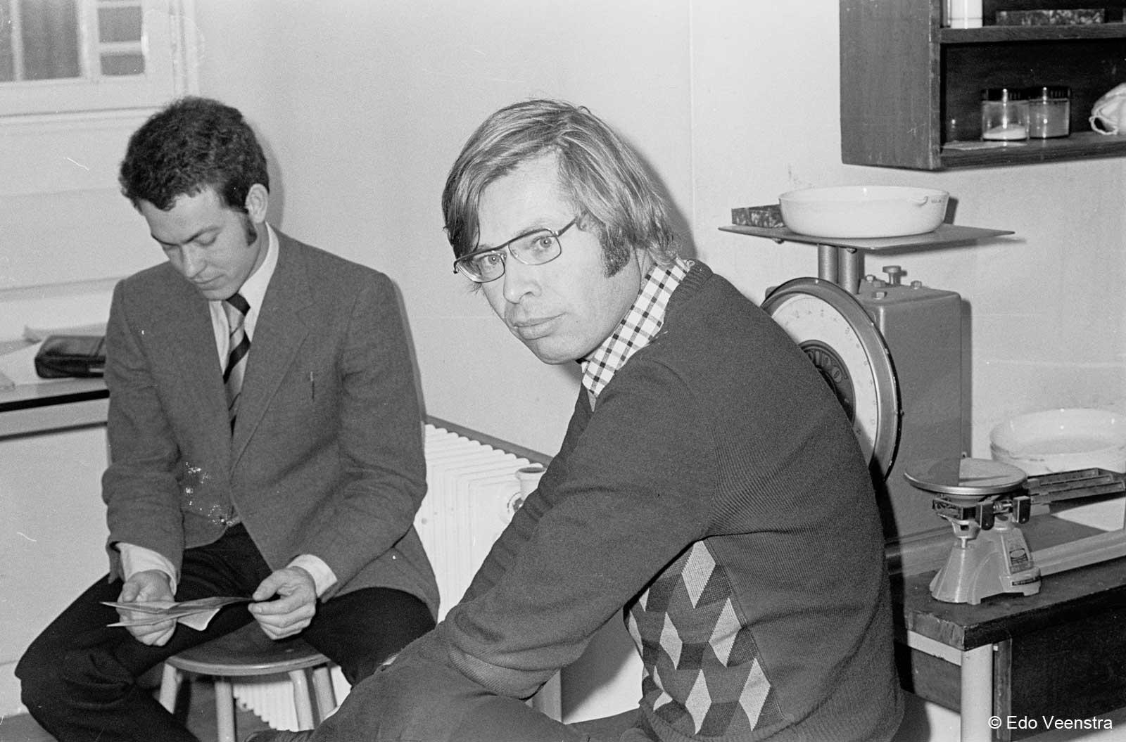 Frans Bianchi en IJb Klein