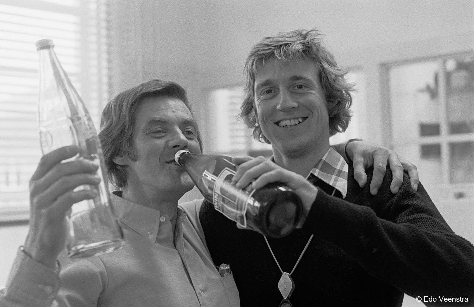 Bob Stokvis en Piet Kager