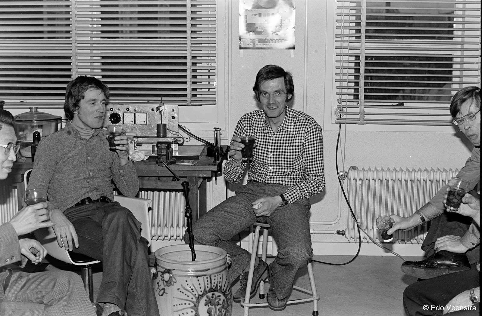 Oen Ing Soen, Piet Kager en Bob Stokvis