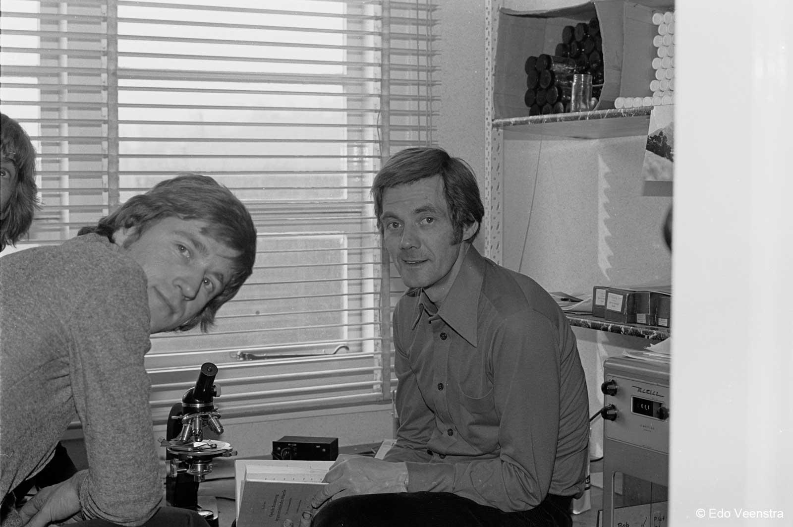 Piet Kager en Bob Stokvis