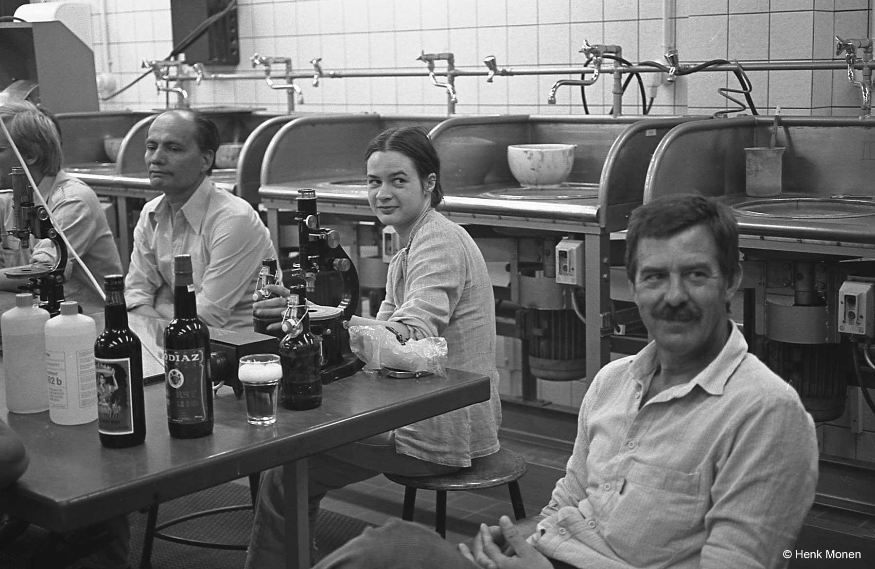 meneer de Herdt, Thea van Meerten en Dirk Beets