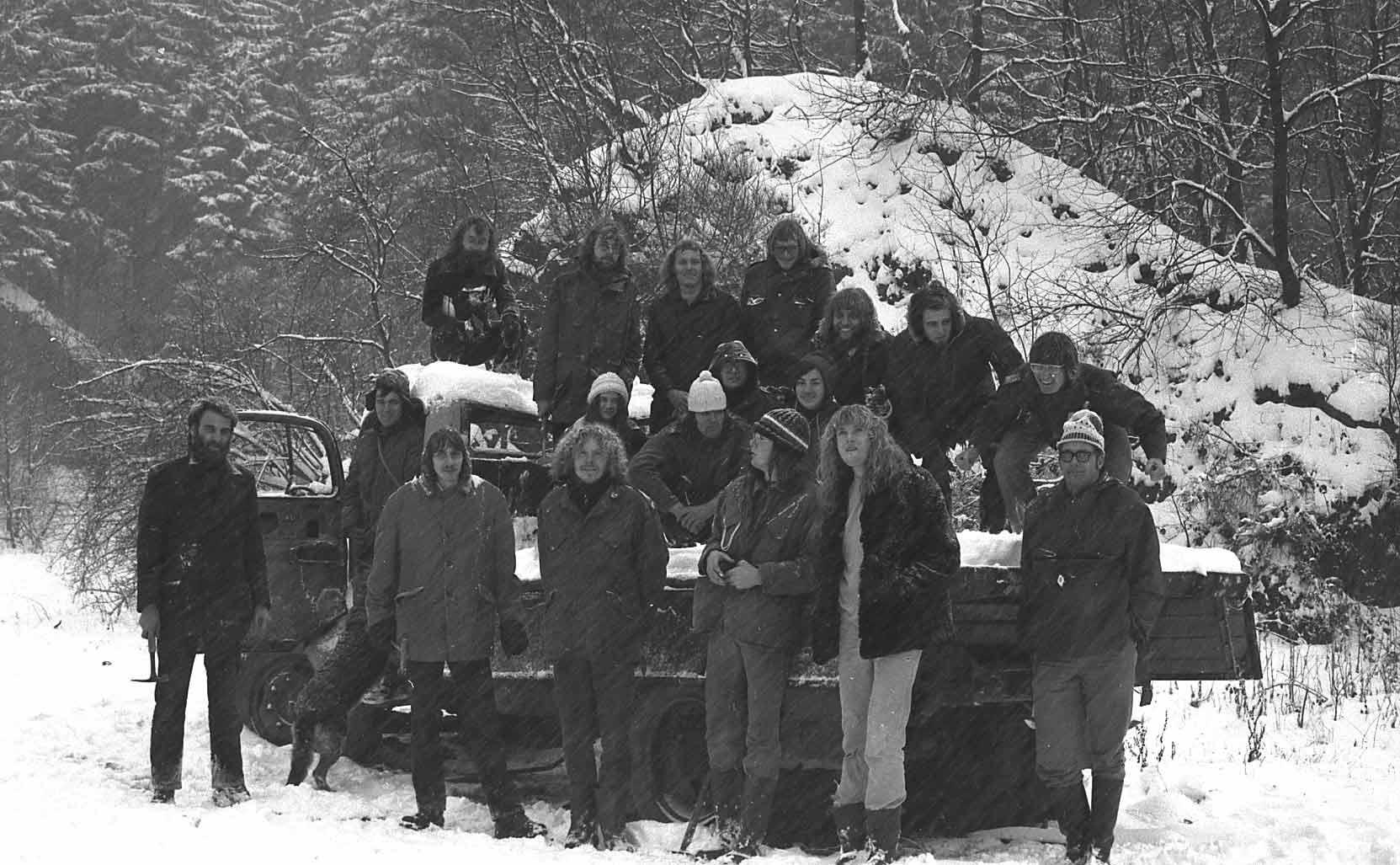 Excursie Sauerland 1973