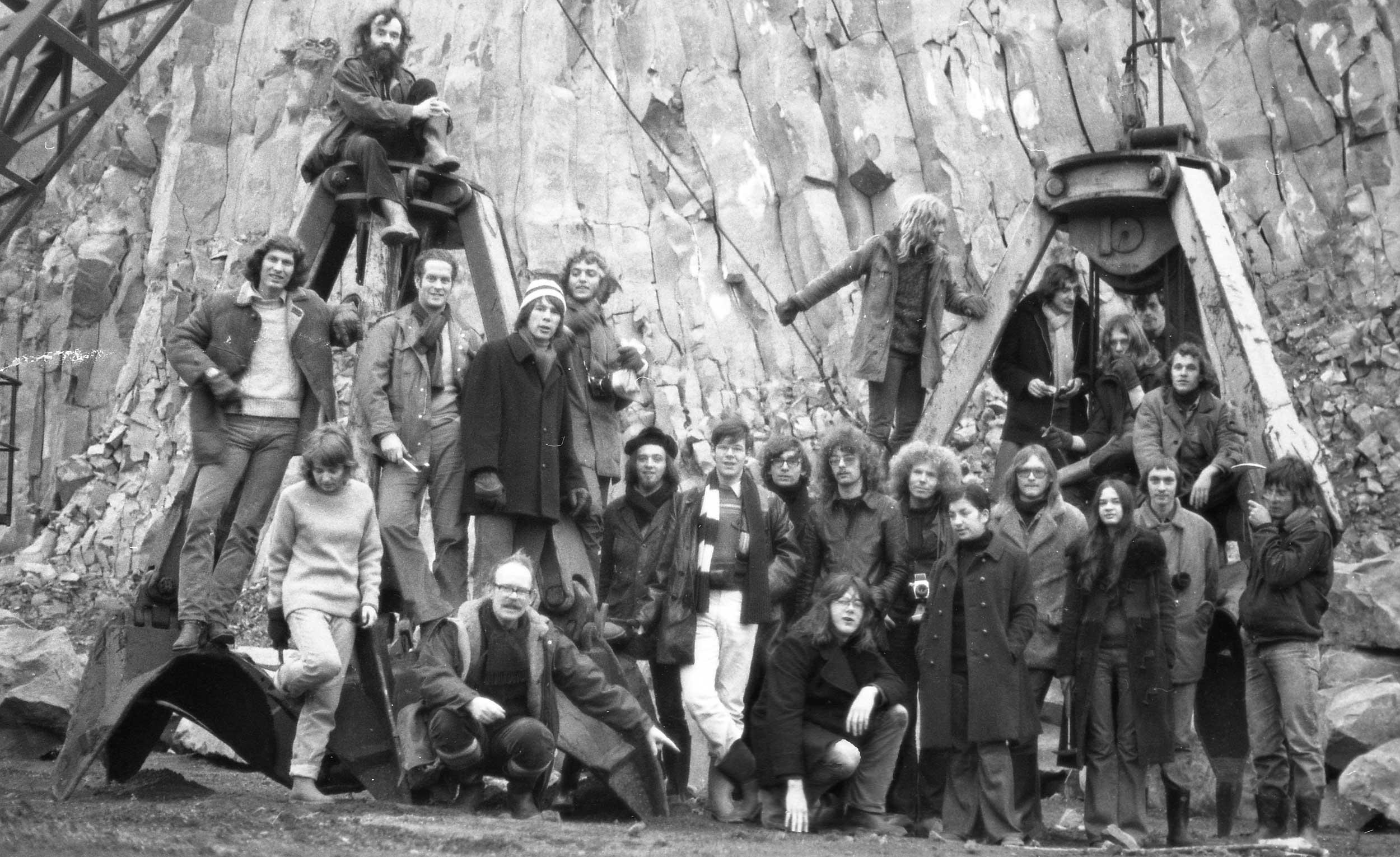 Excursie Eifel maart 1973